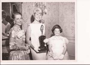 Mrs. Albert Pickus Miss Doris Day and Miss Addie Lee Pickus